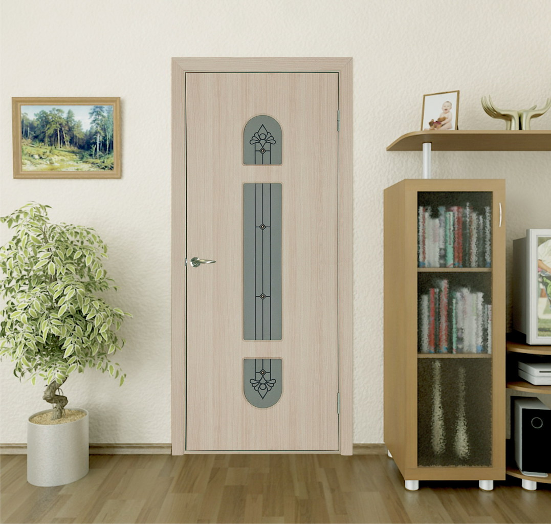 Дверь из экошпона ясеня