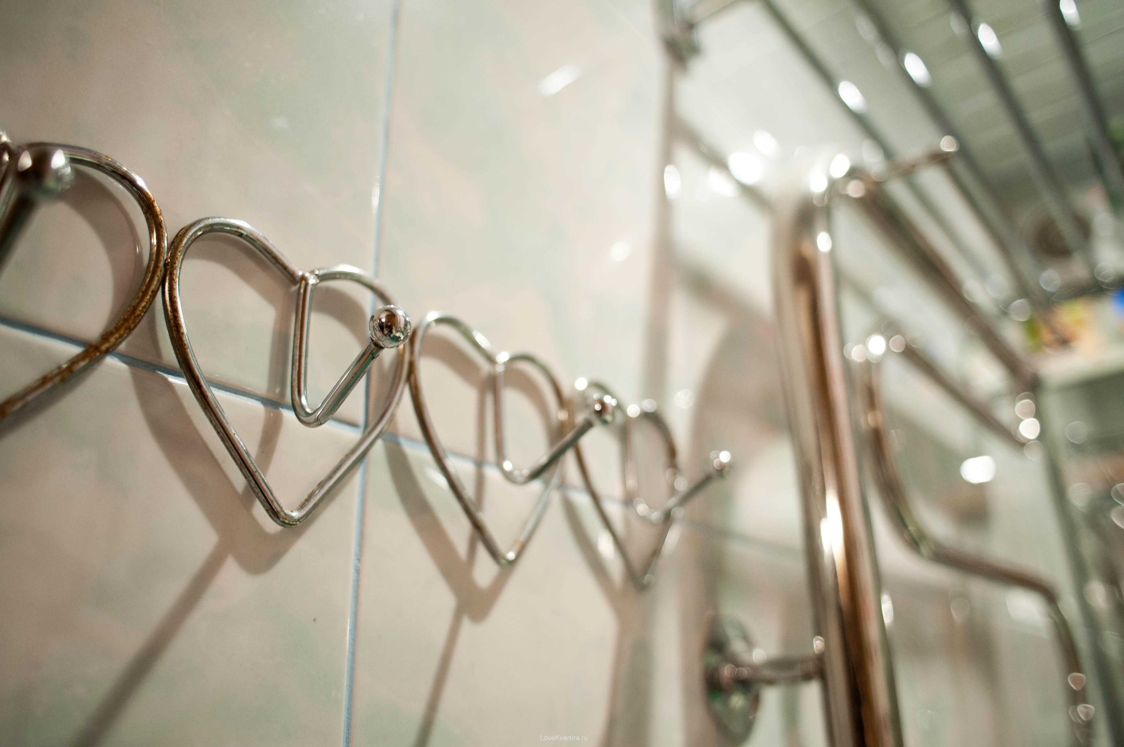 Фигурные крючки для ванной