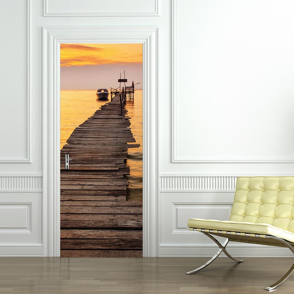 Дверь с фотопринтом
