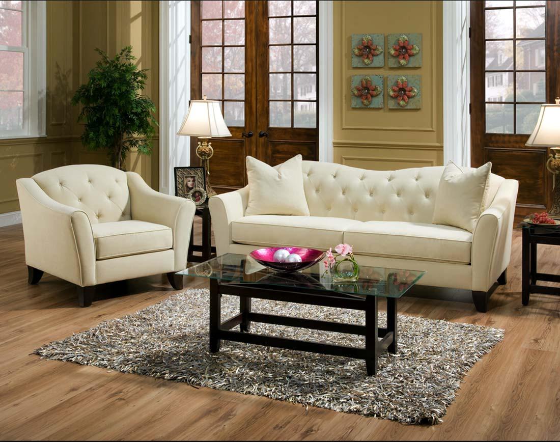 Выкатной диван в гостиной
