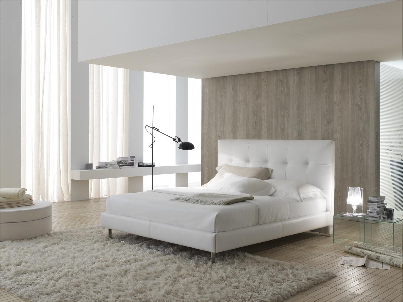 Реечная кровать в интерьере