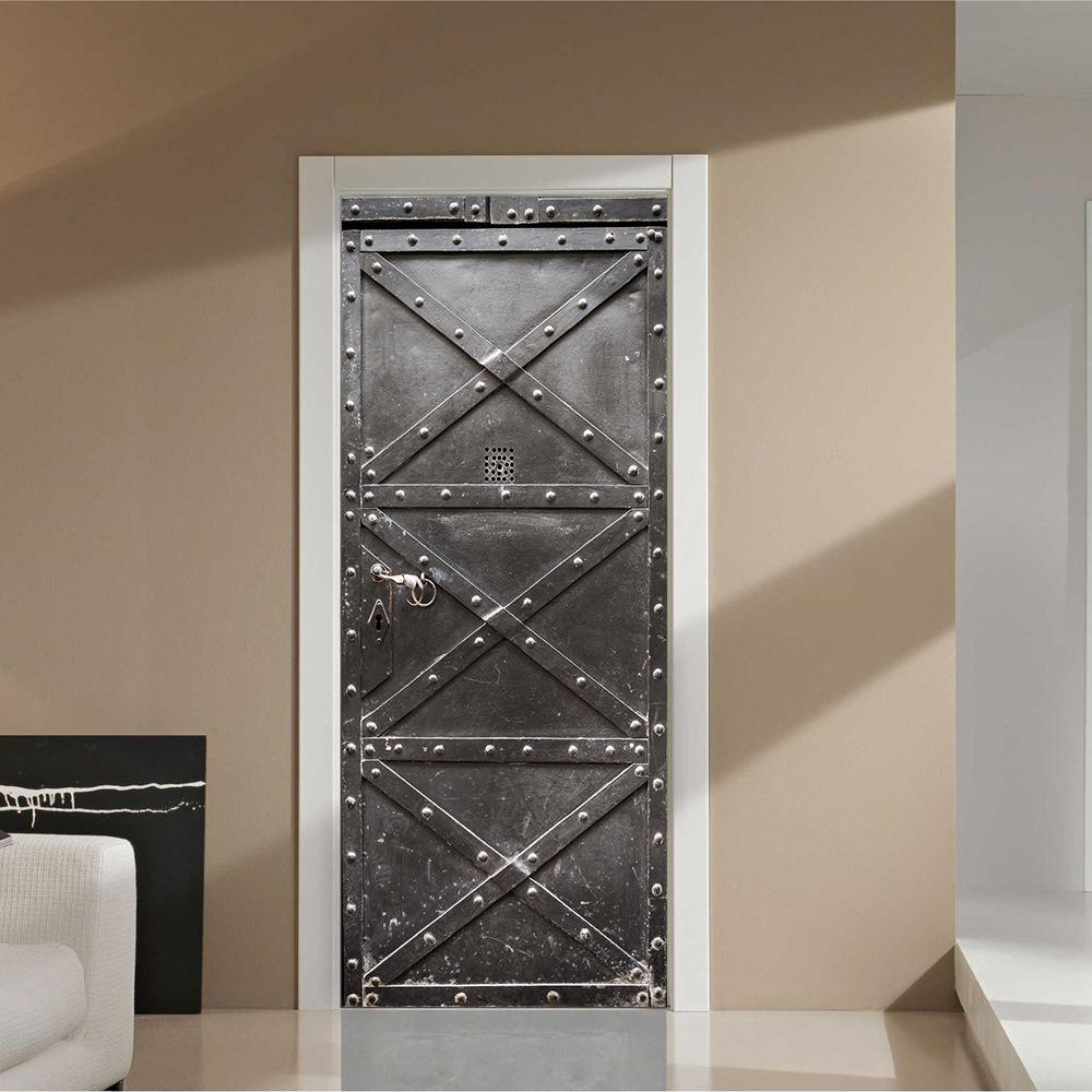 3D дверь в интерьере