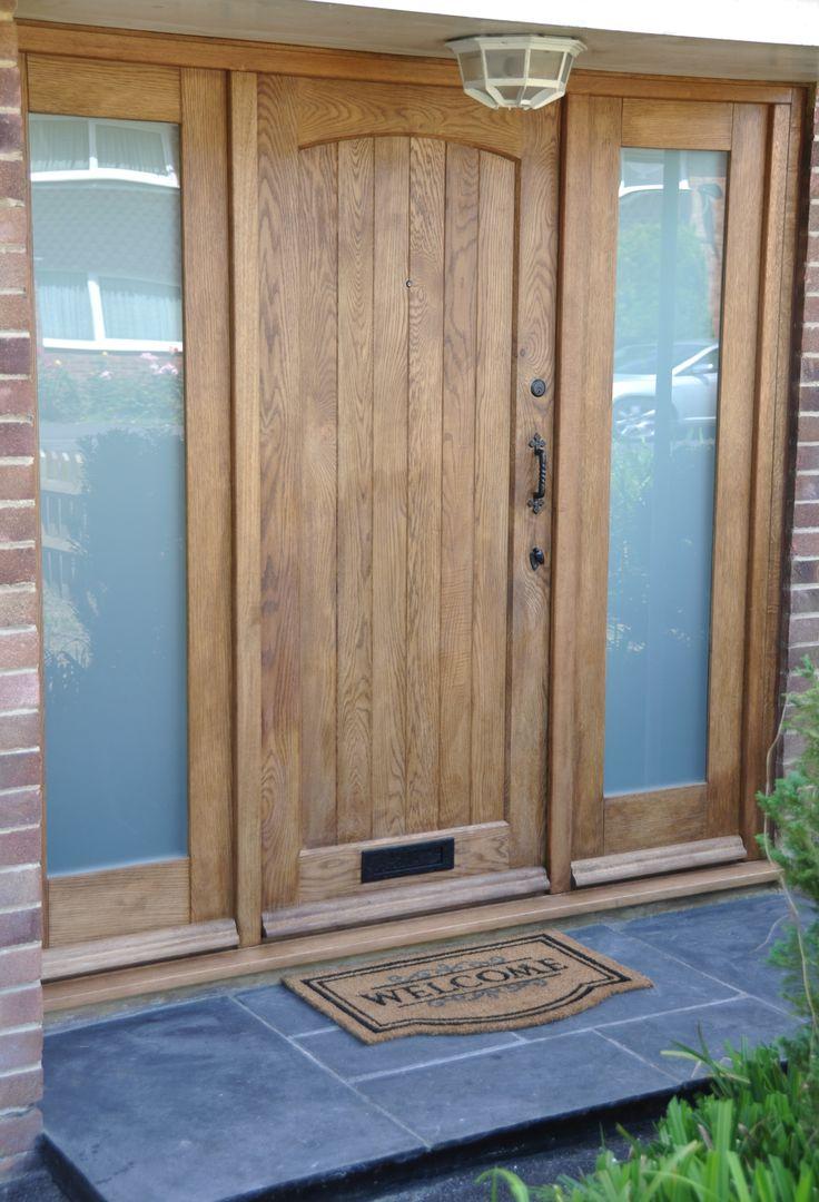 Дверь из дуба в стиле кантри