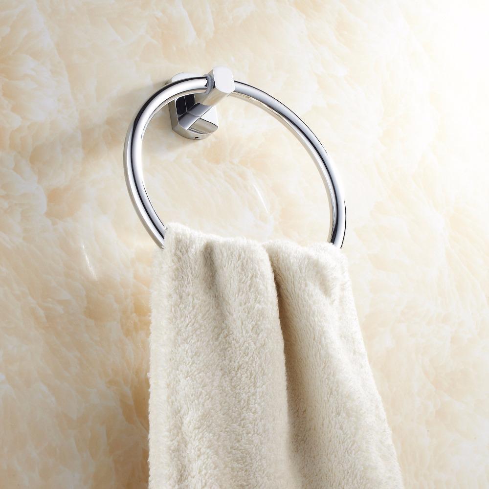 Полотенцедержатель в виде кольца