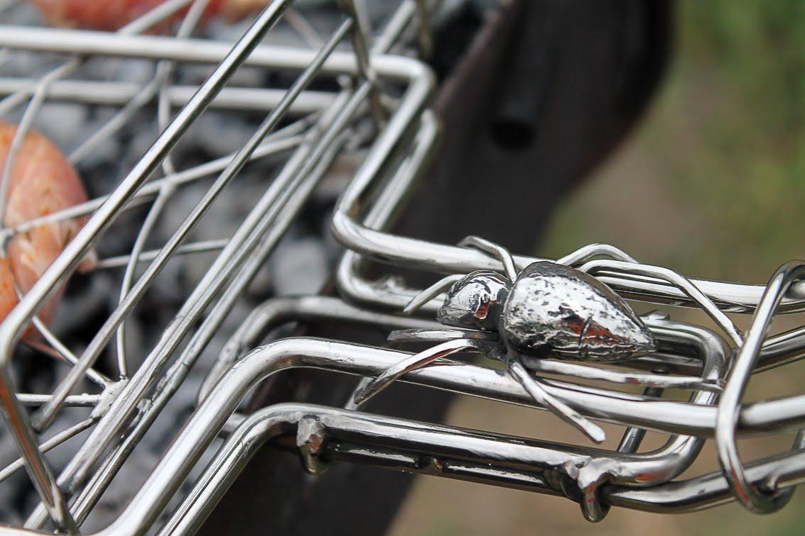 Кованая решетка для гриля