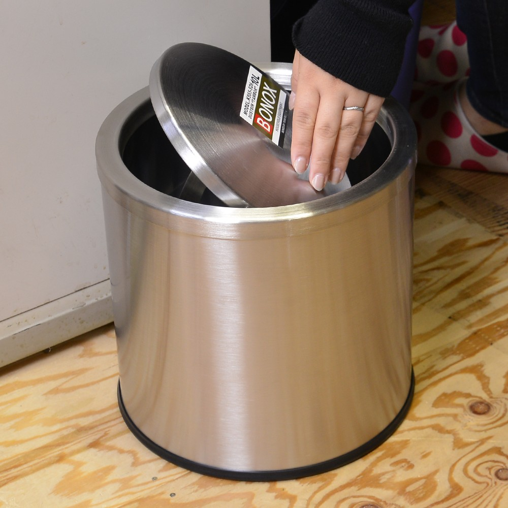 Круглое ведро для мусора