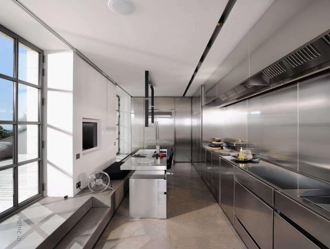 Кухня в стиле техно