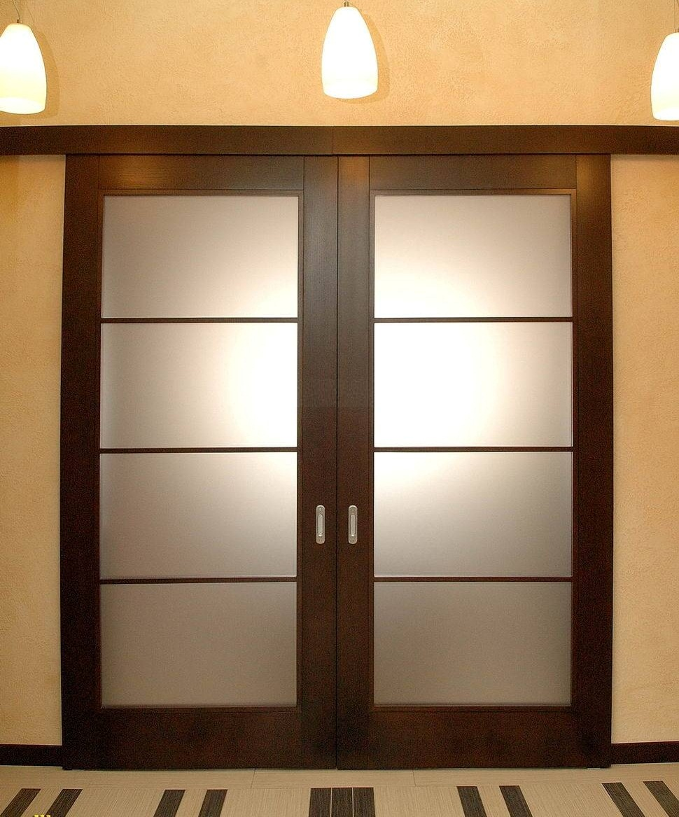 Двустворчатая дверь-купе