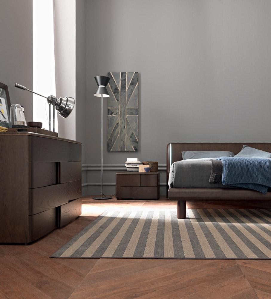 Спальня венге в лаконичном дизайне