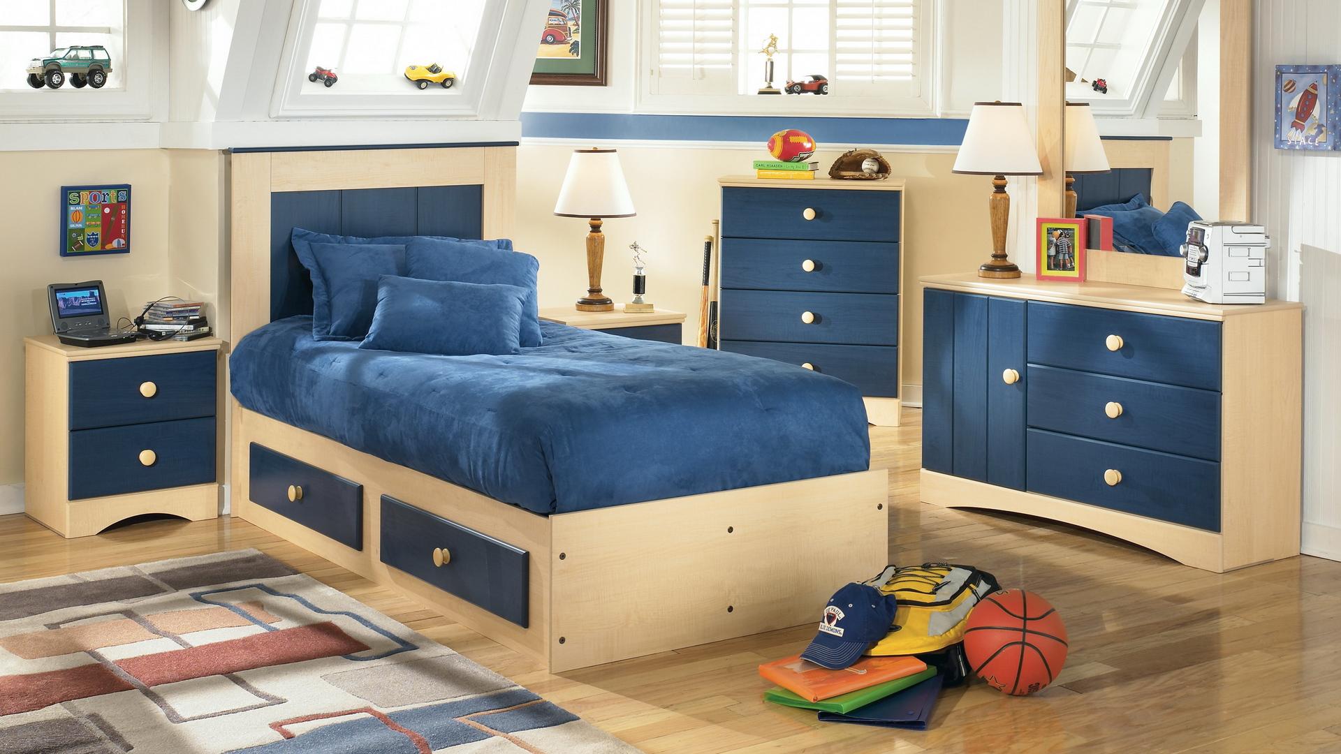 Кровать из МДФ для мальчика