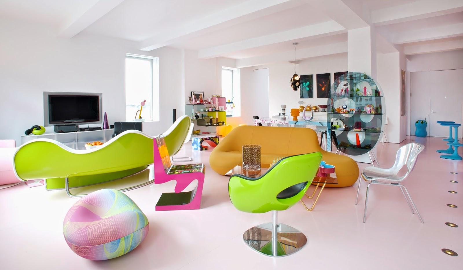 Мебель в стиле техно