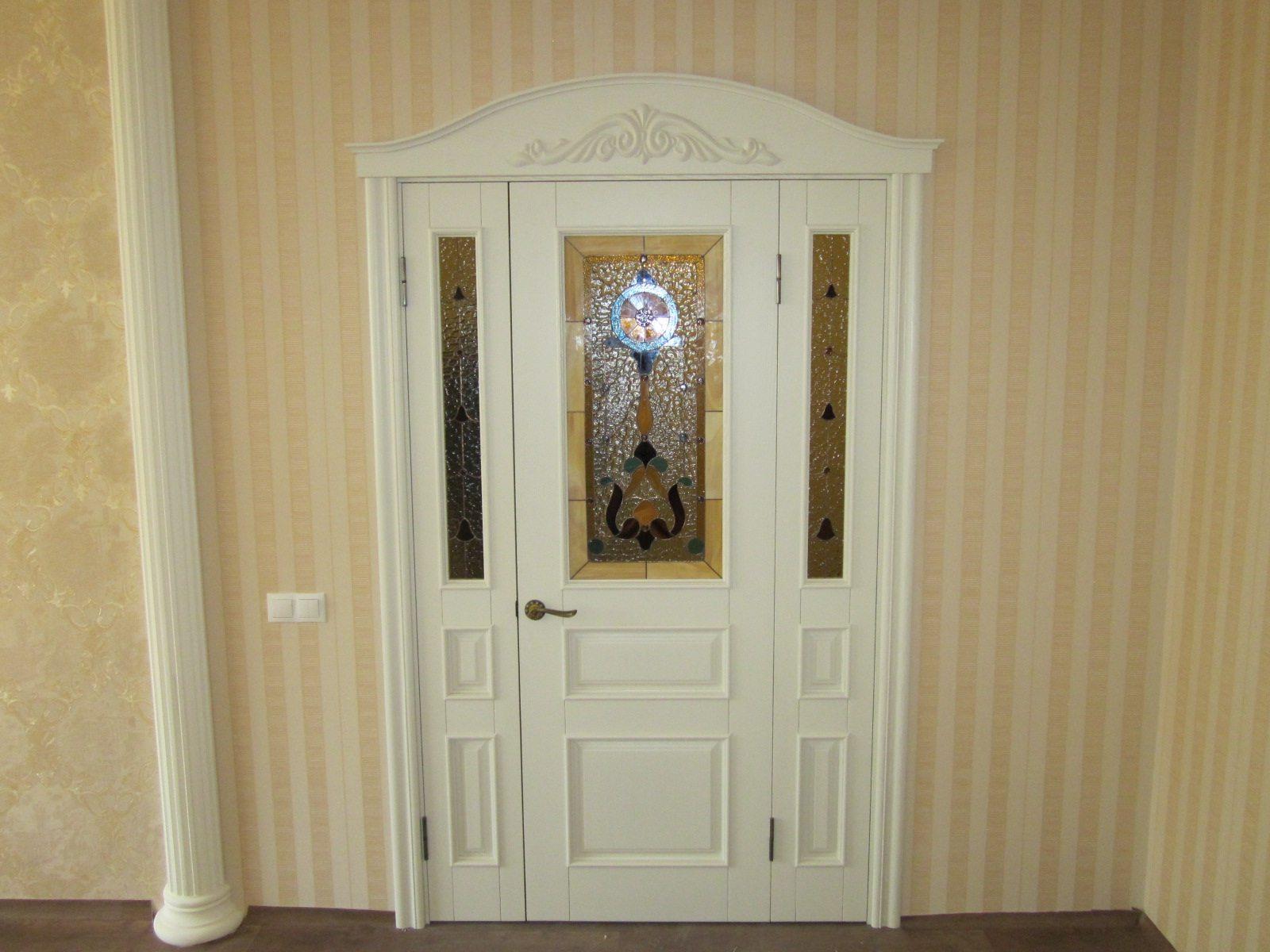 Межкомнатная дверь из ясеня