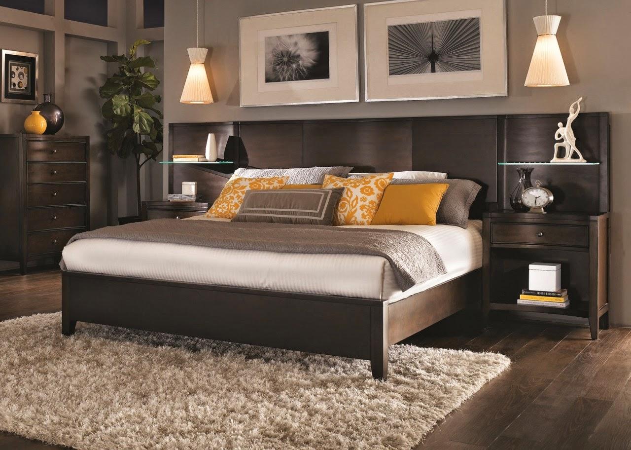 Реечная кровать в стиле модерн