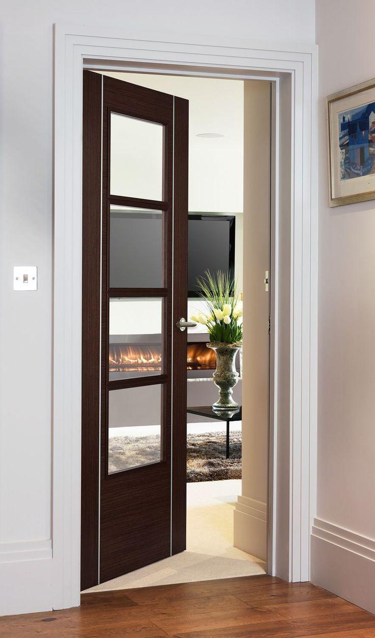 Дверь венге в стиле модерн