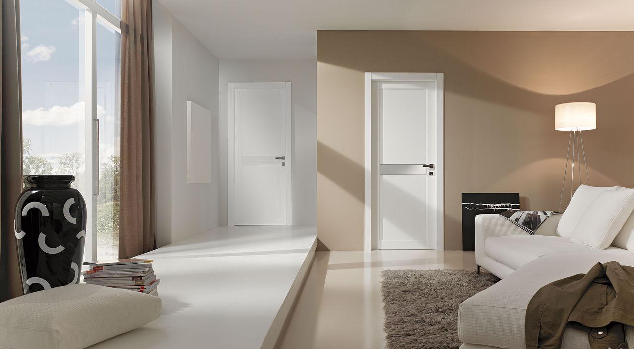 Дверь из ясеня в стиле модерн