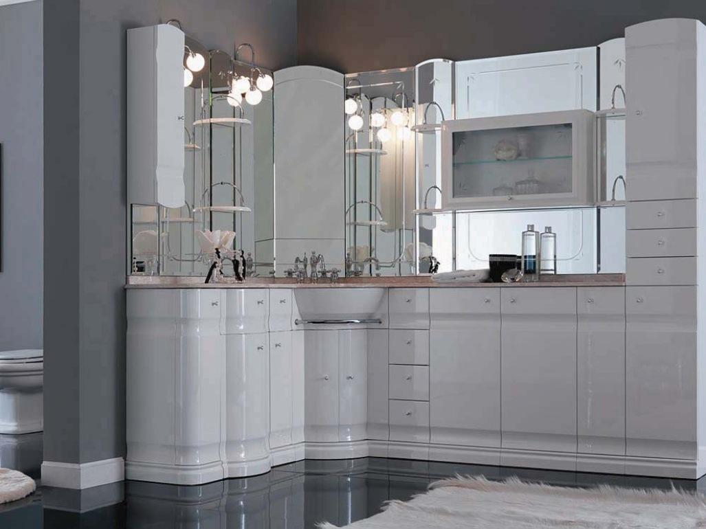 Шкаф для ванной в стиле модерн
