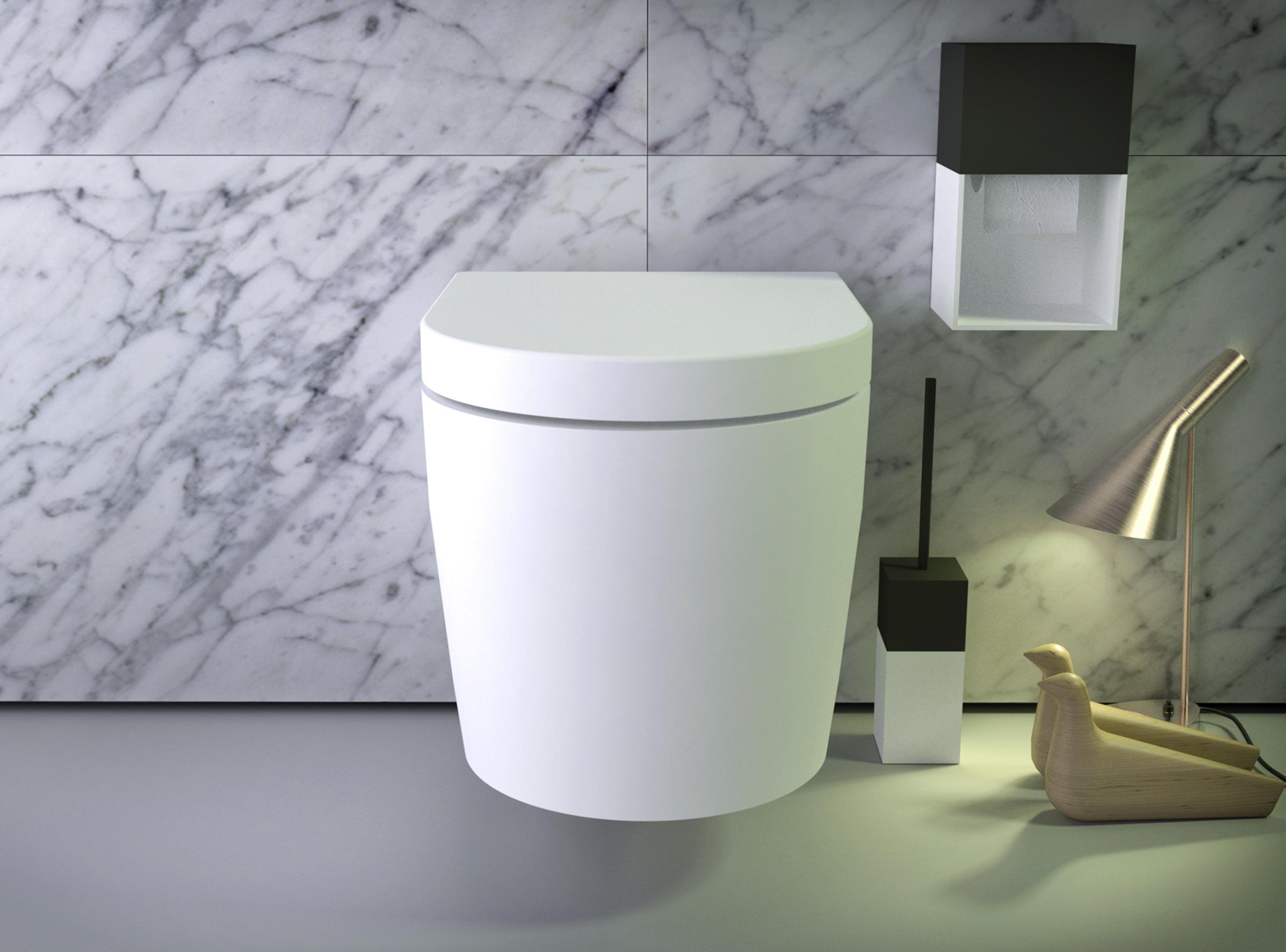 Держатель для туалетной бумаги в стиле модерн