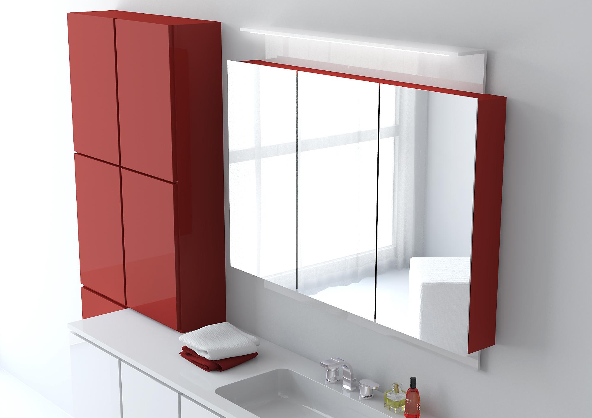 Модульный шкаф для ванной