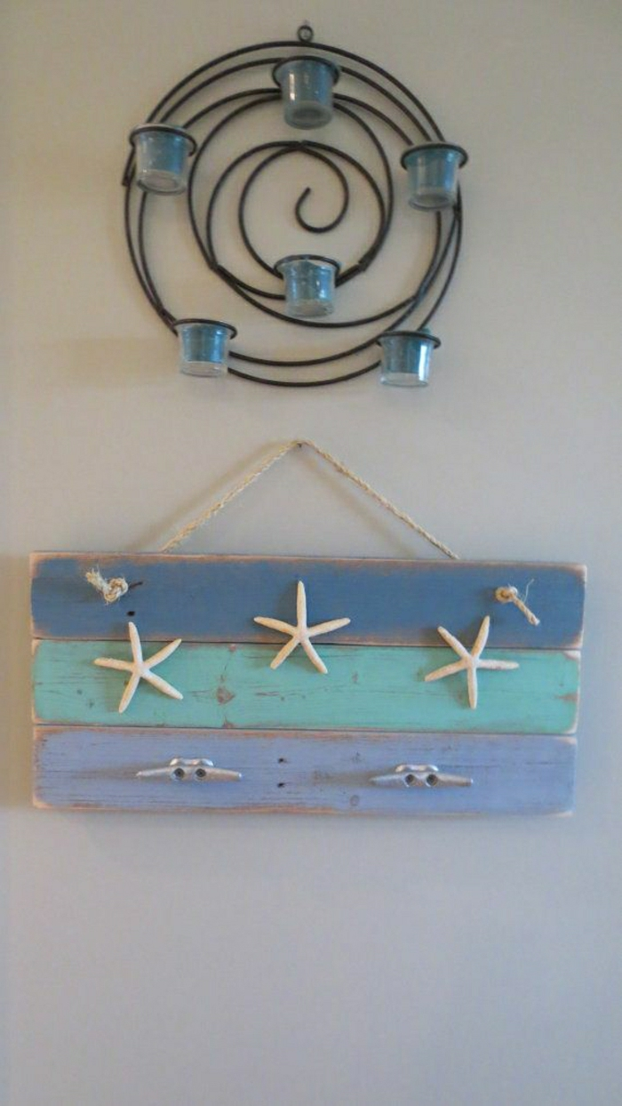 Крючки для ванной в морском стиле