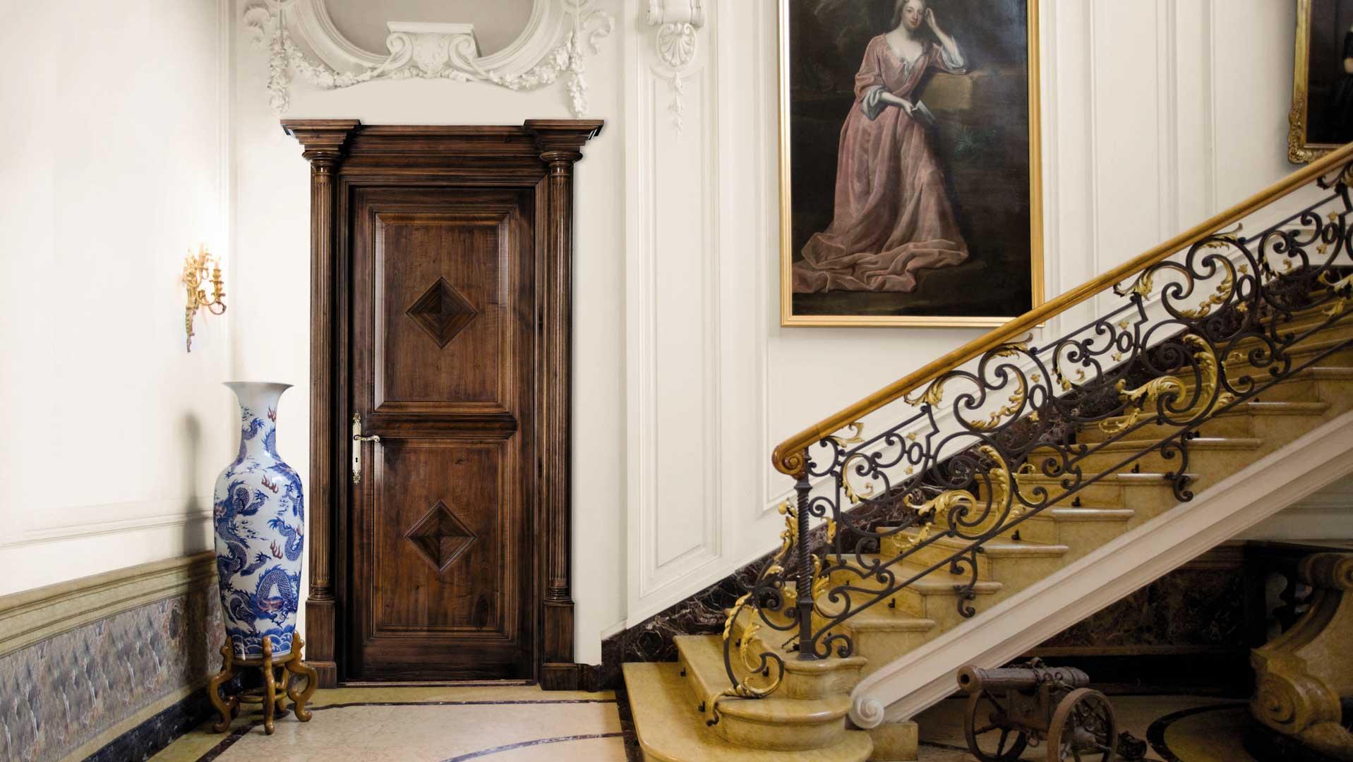 Межкомнатные двери из дуба: аристократическая прочность (26 фото)