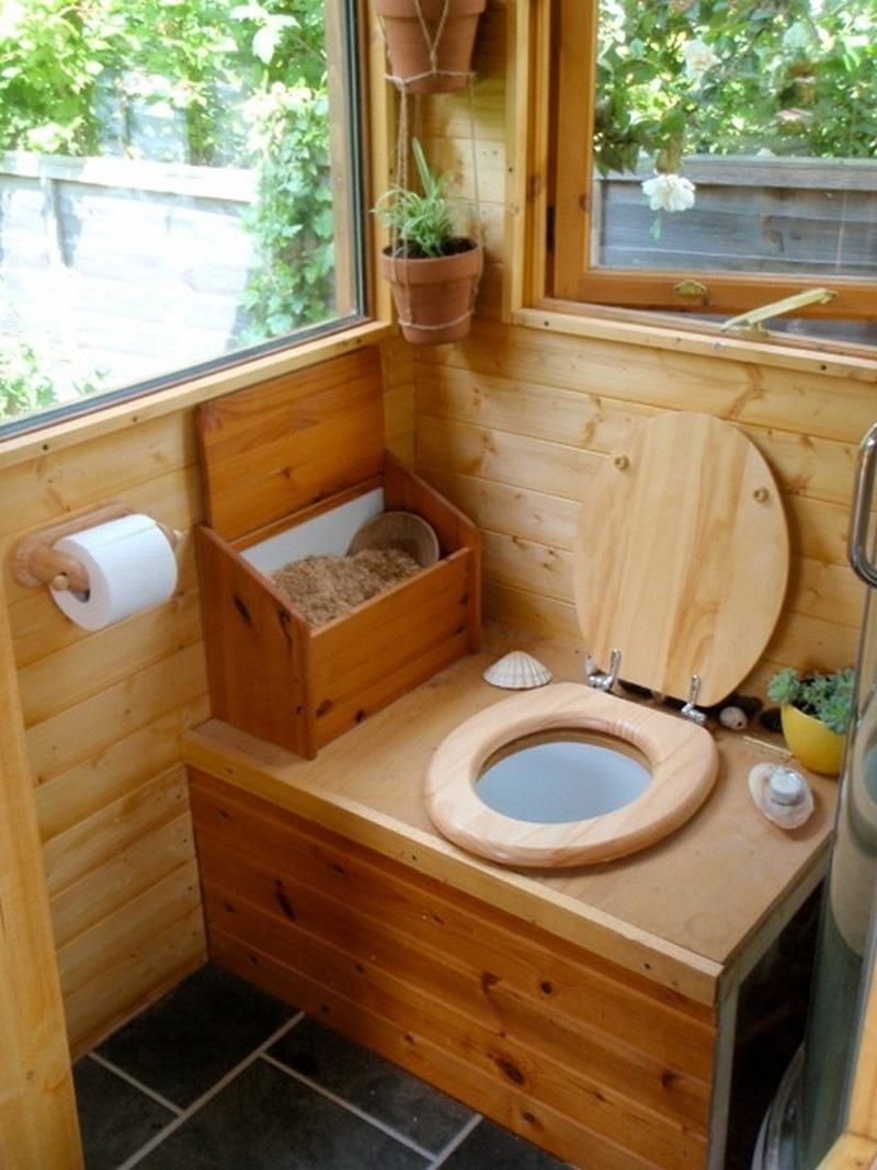 Торфяной туалет без откачки