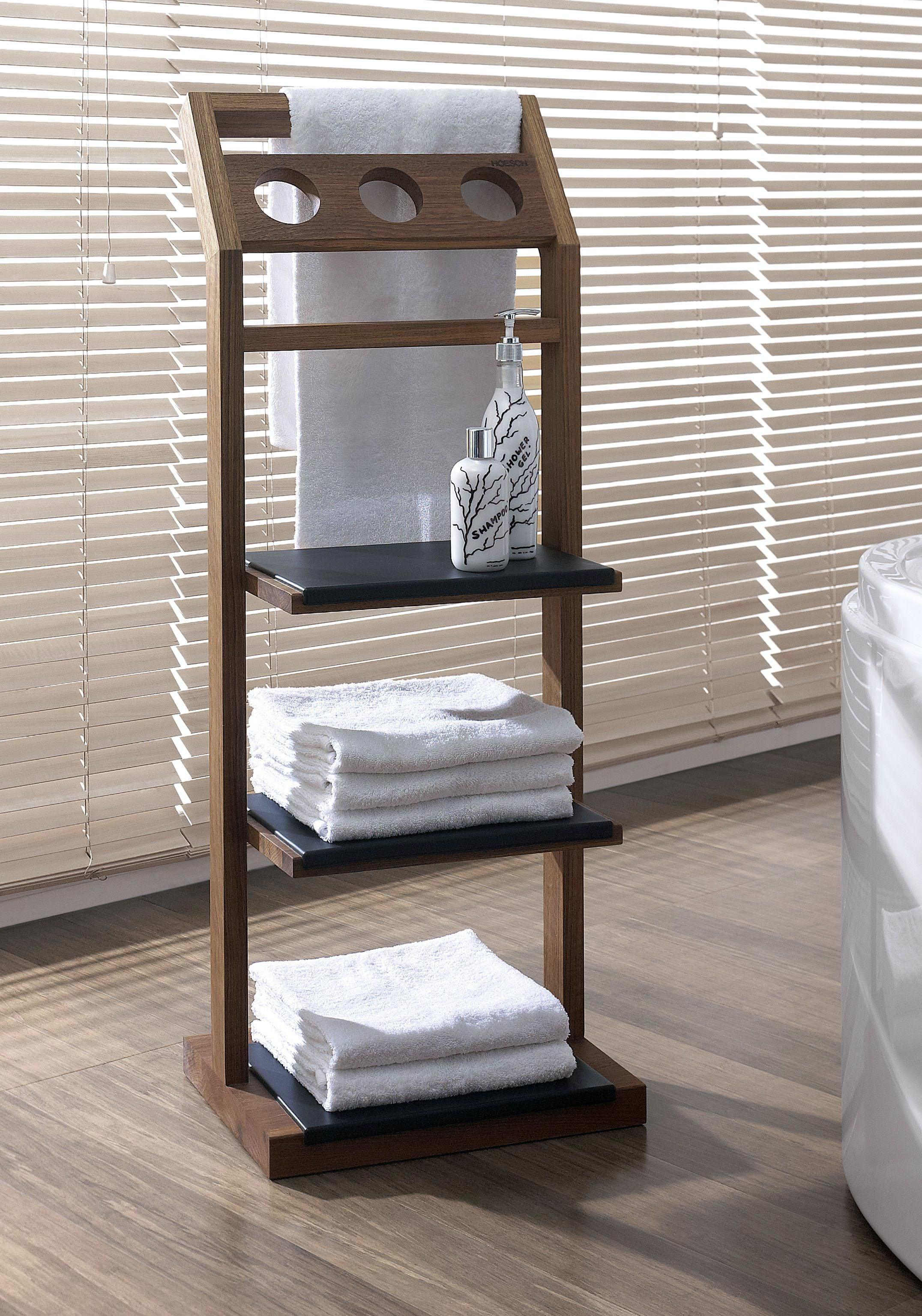 Полки для полотенец в ванной