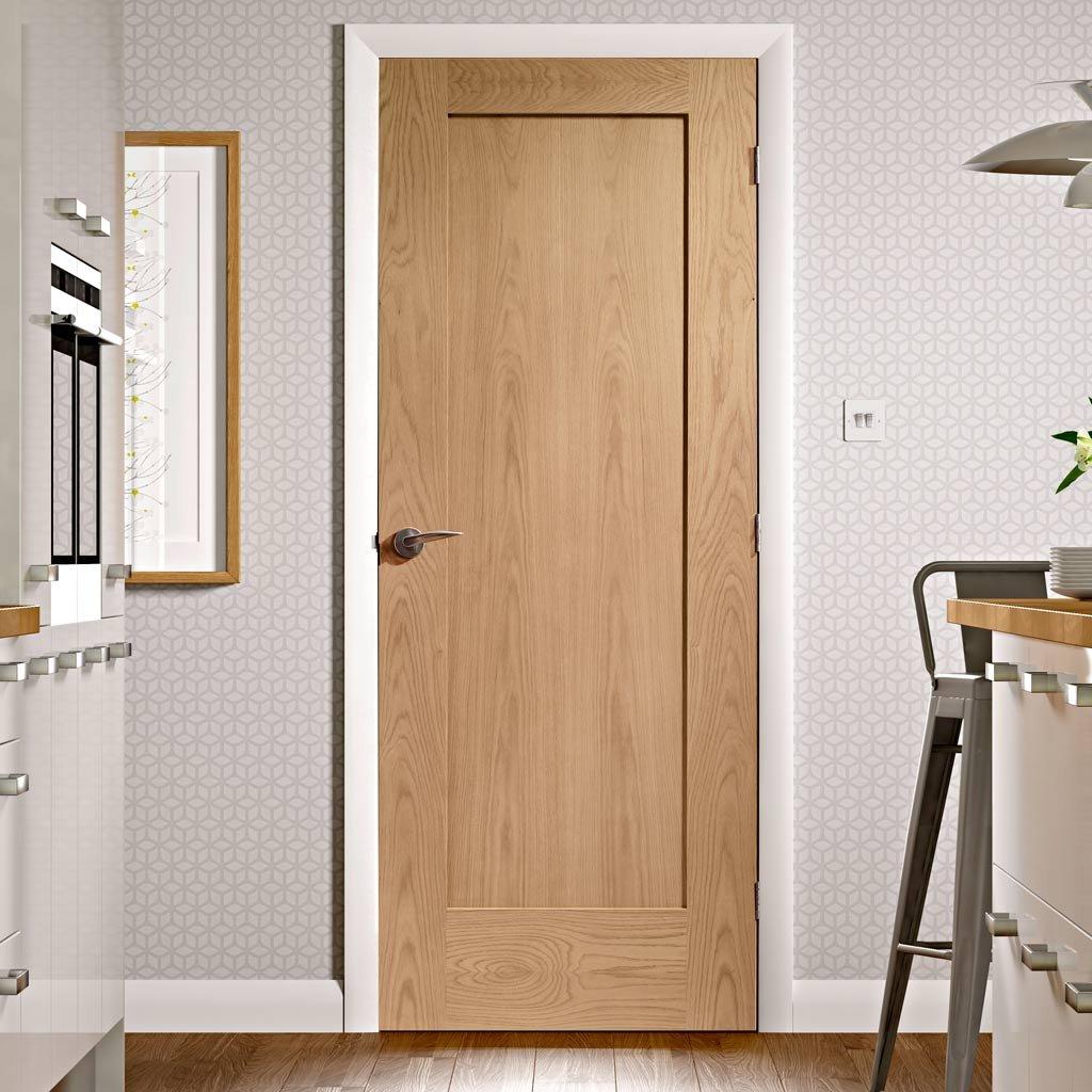 Дверное полотно из дуба