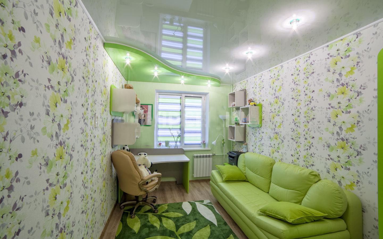 Подвесной зеленый потолок