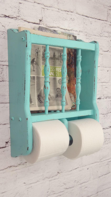 Держатель для туалетной бумаги в стиле прованс