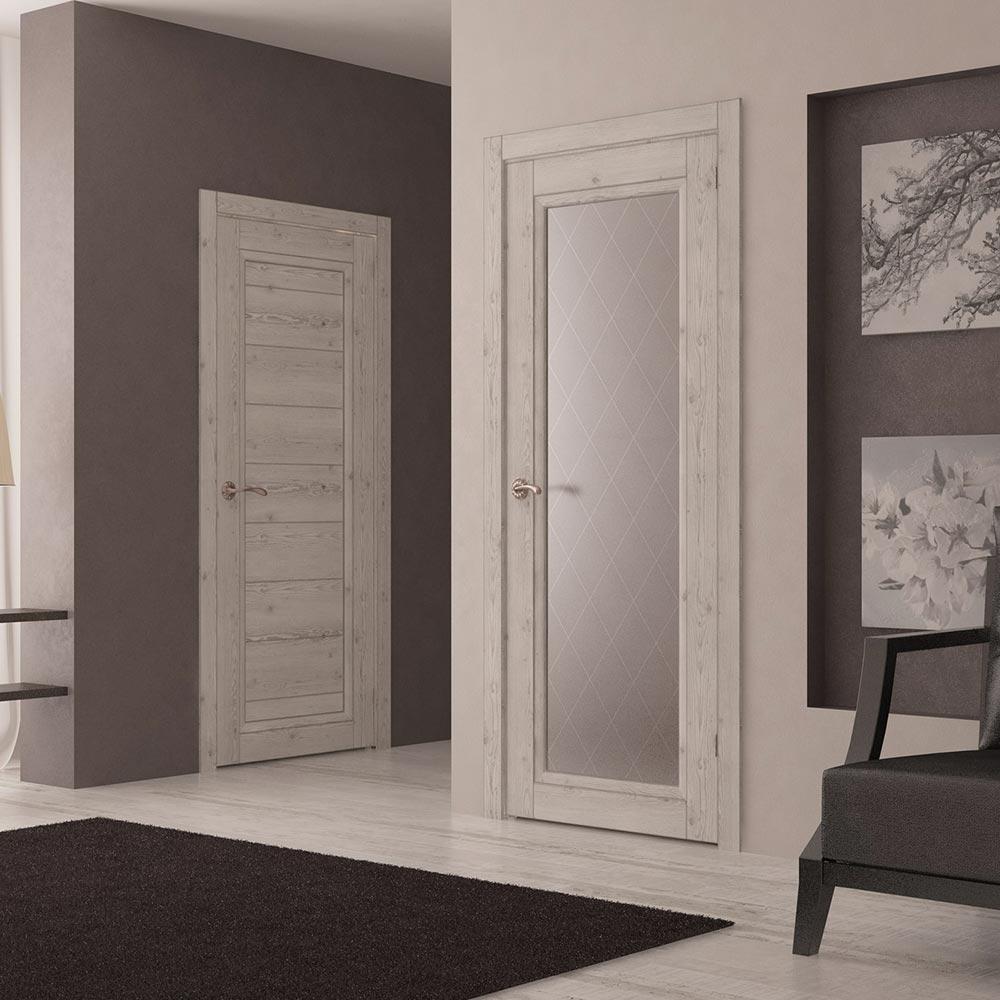 Дверь из экошпона в стиле прованс