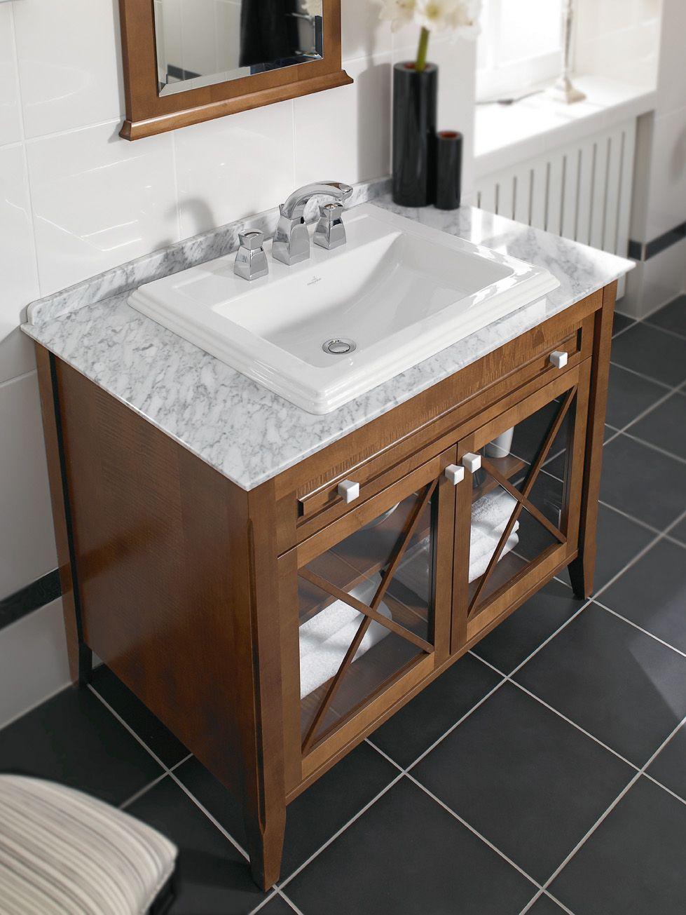 Шкаф под раковиной для ванной