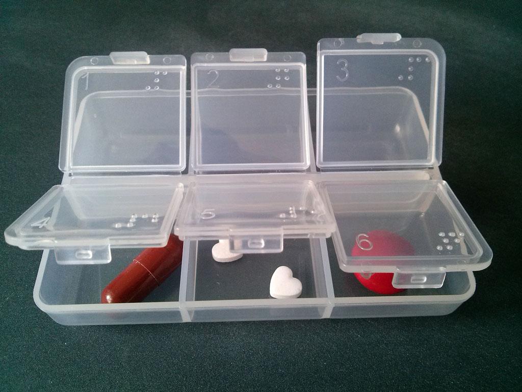 Раскладка для таблеток