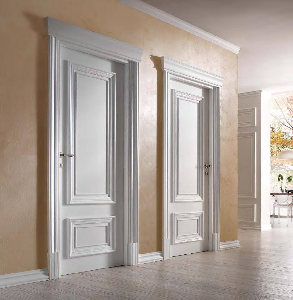 Классическая дверь с рейками