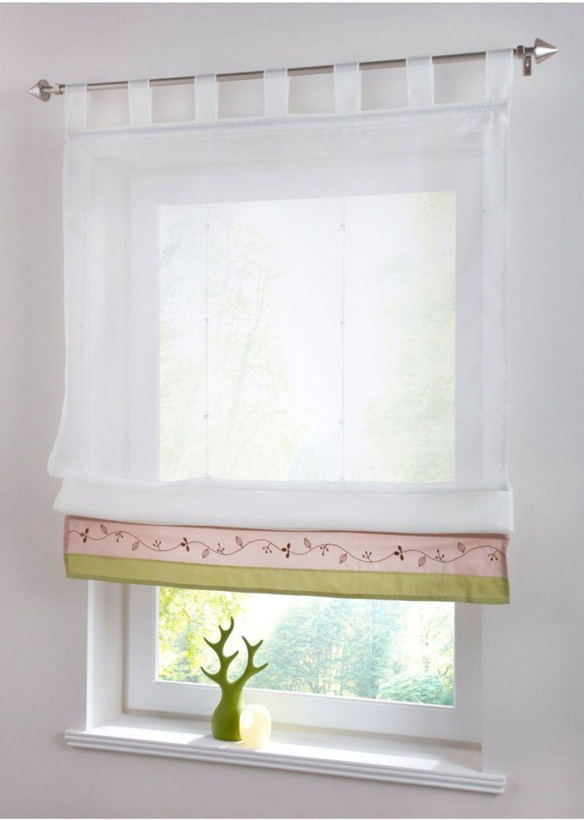 Римские шторы из тюли