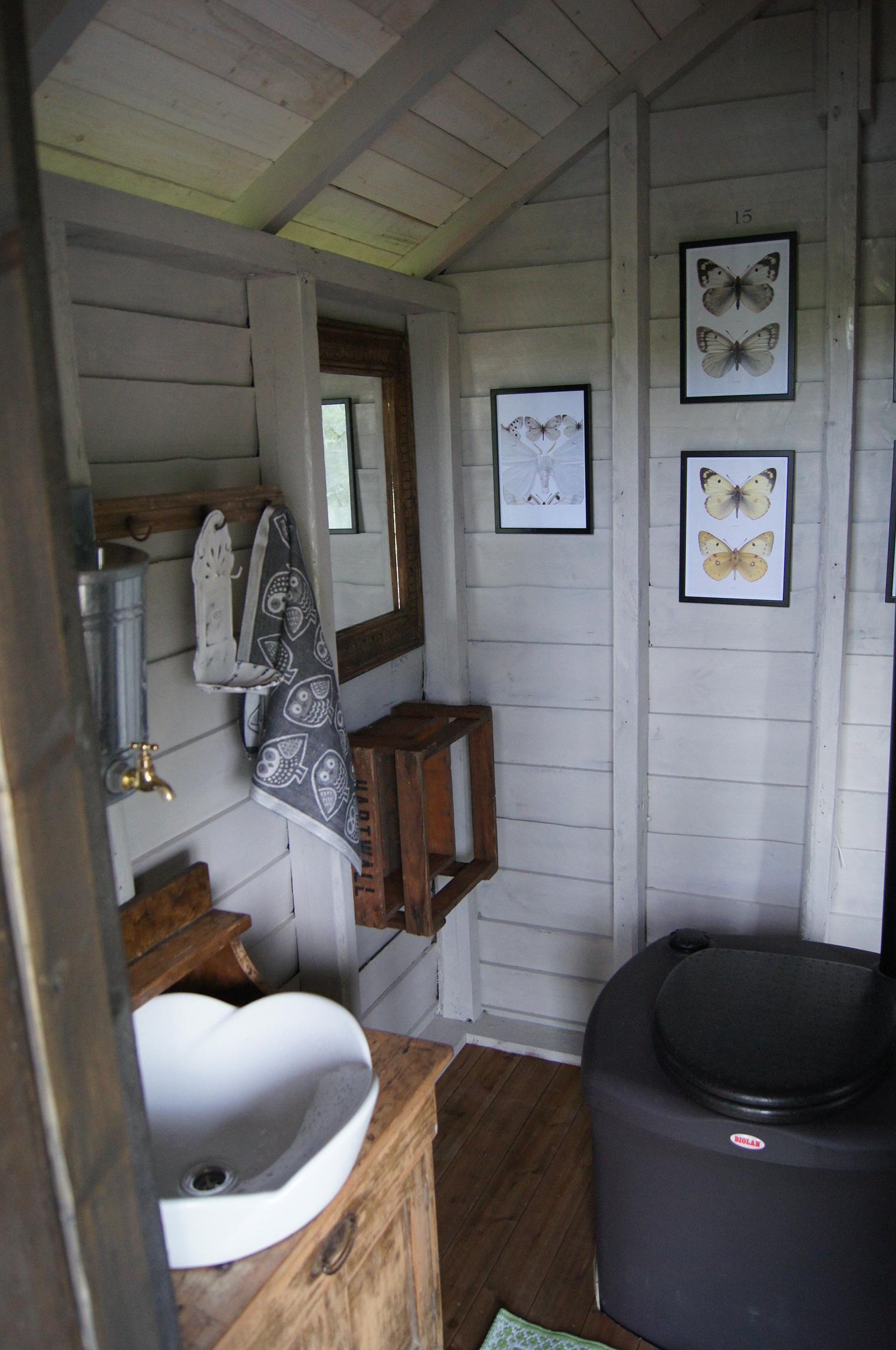 Торфяной садовый туалет