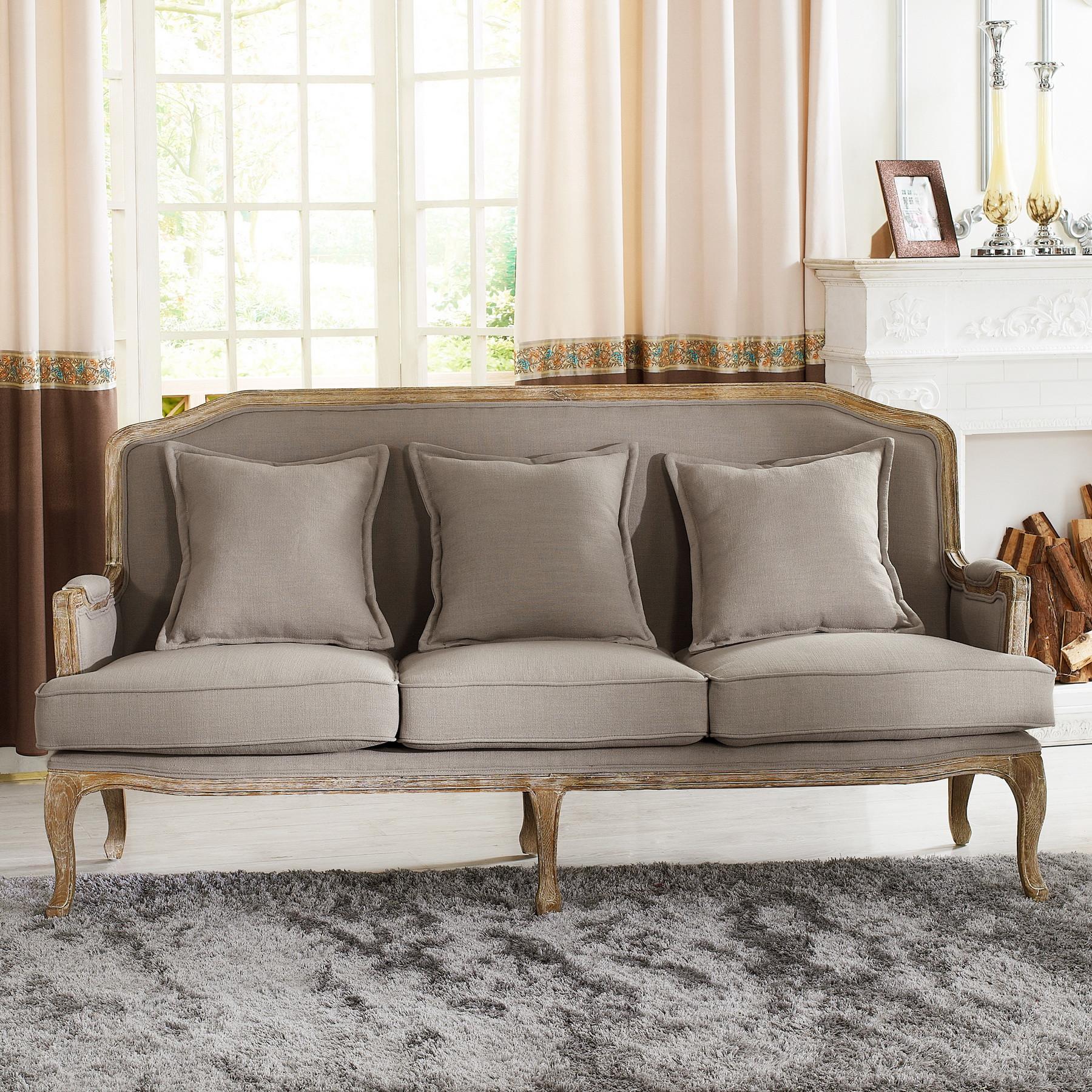 Французский серый диван