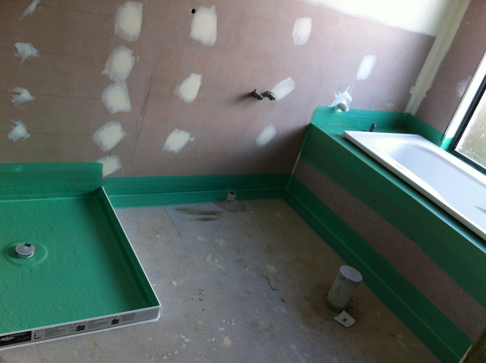 Система гидроизоляции в ванной