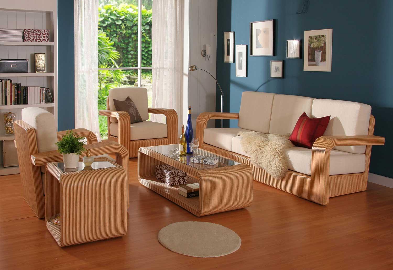 Деревянный склеенный диван