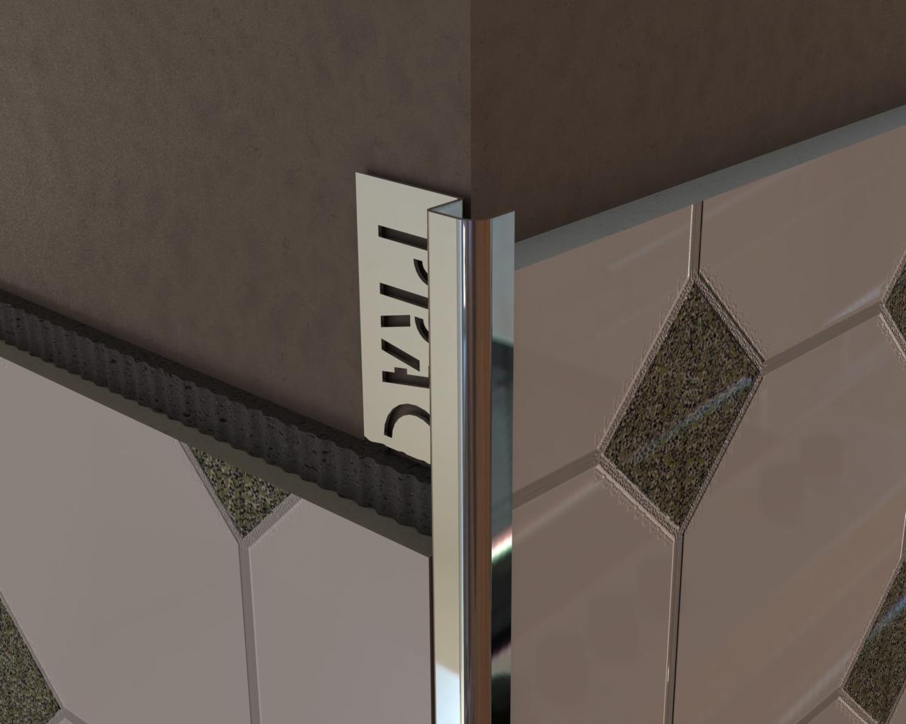 Скругленный уголок для плитки