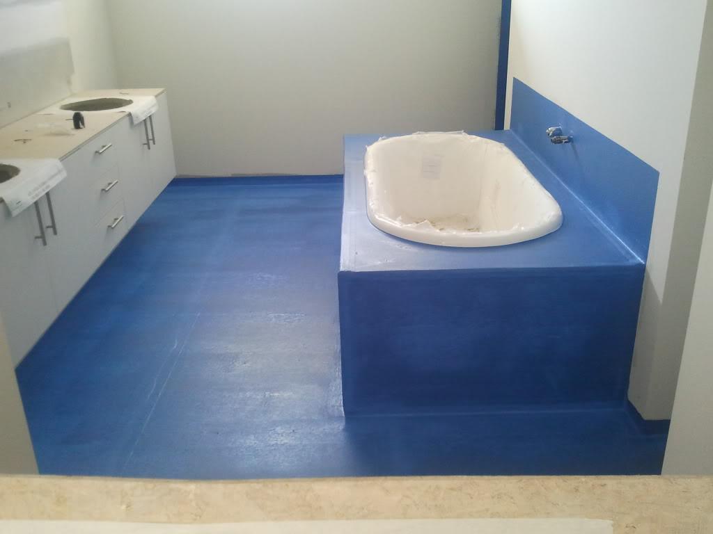 Гидроизоляция стен ванной