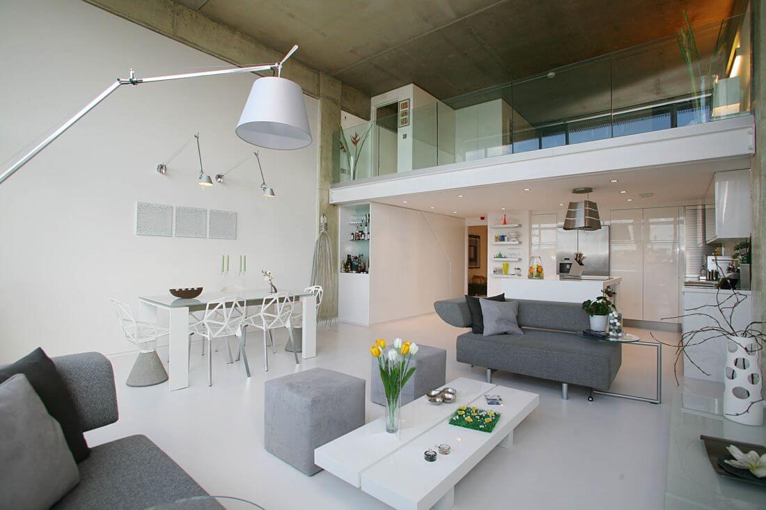 Интерьер квартиры в стиле техно