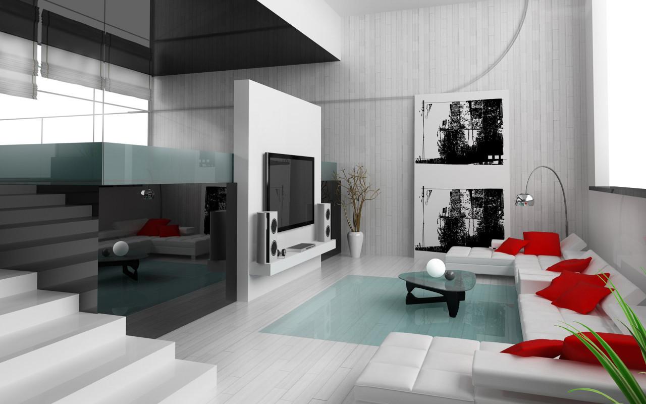 Квартира-студия в стиле техно