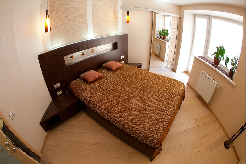 Кровать с угловым изголовьем
