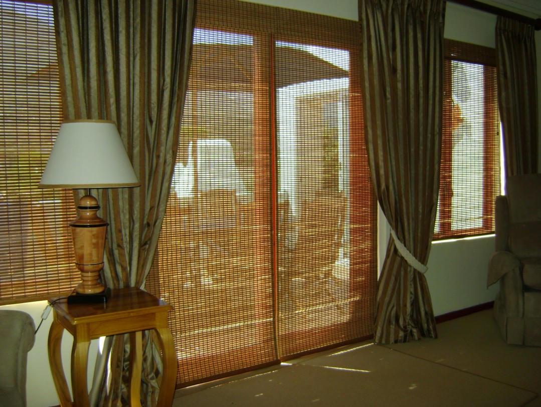 Бамбуковые вертикальные шторы
