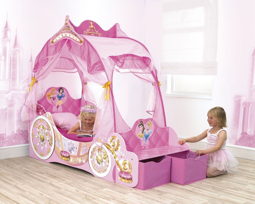 Кровать-карета с ящиками