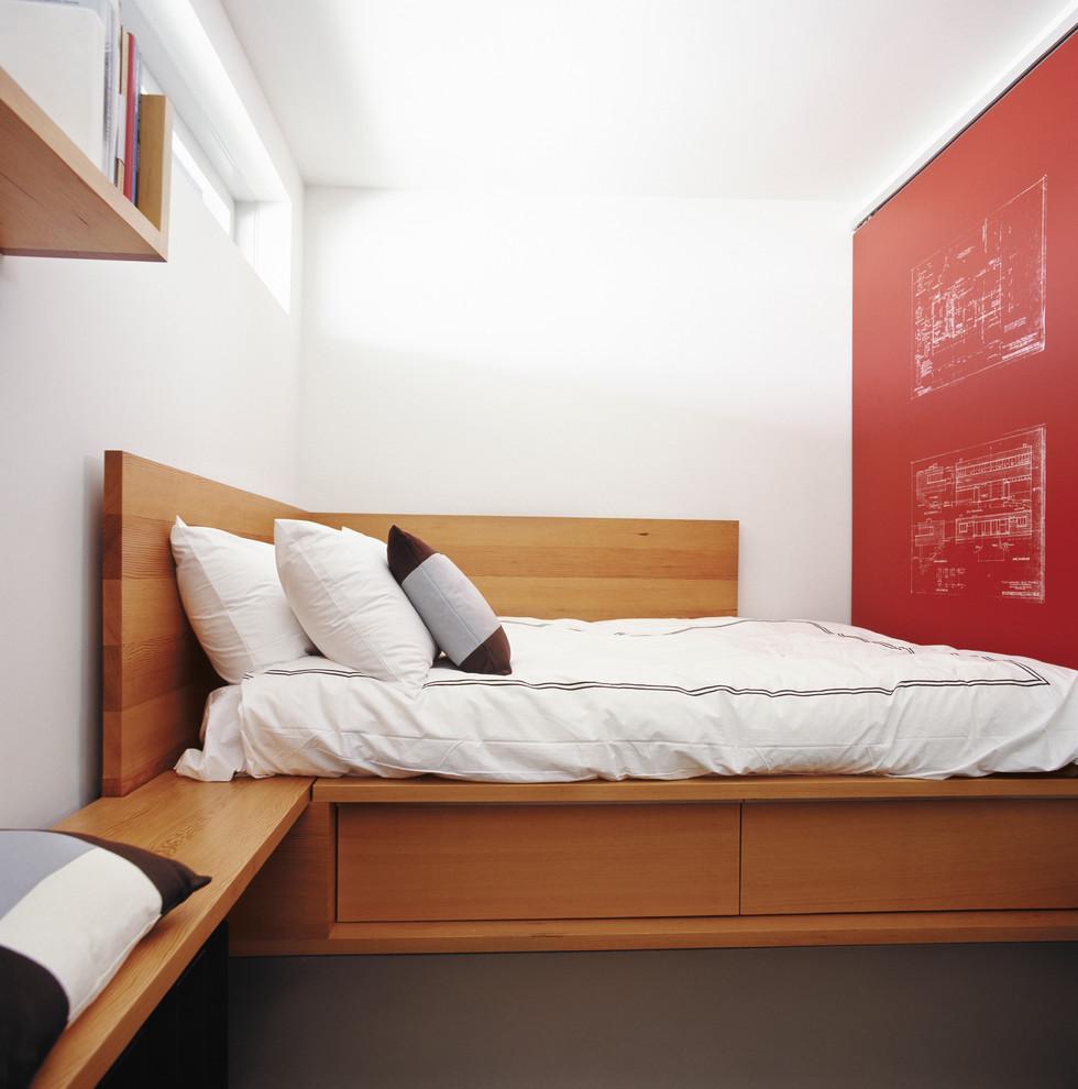 Угловая кровать с ящиками