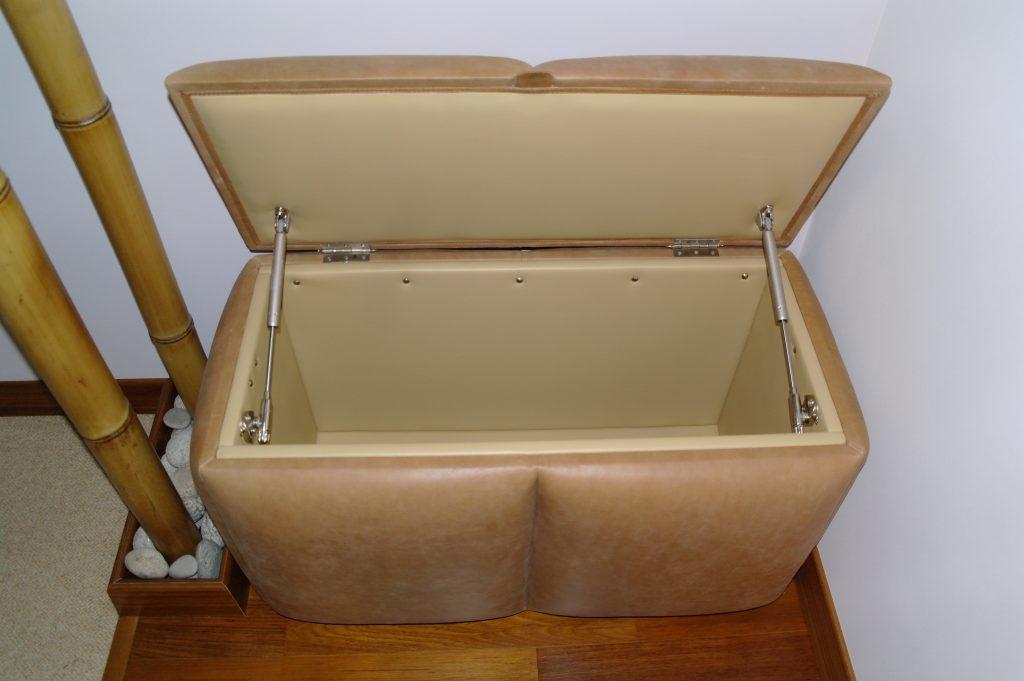 Пуфик-ящик