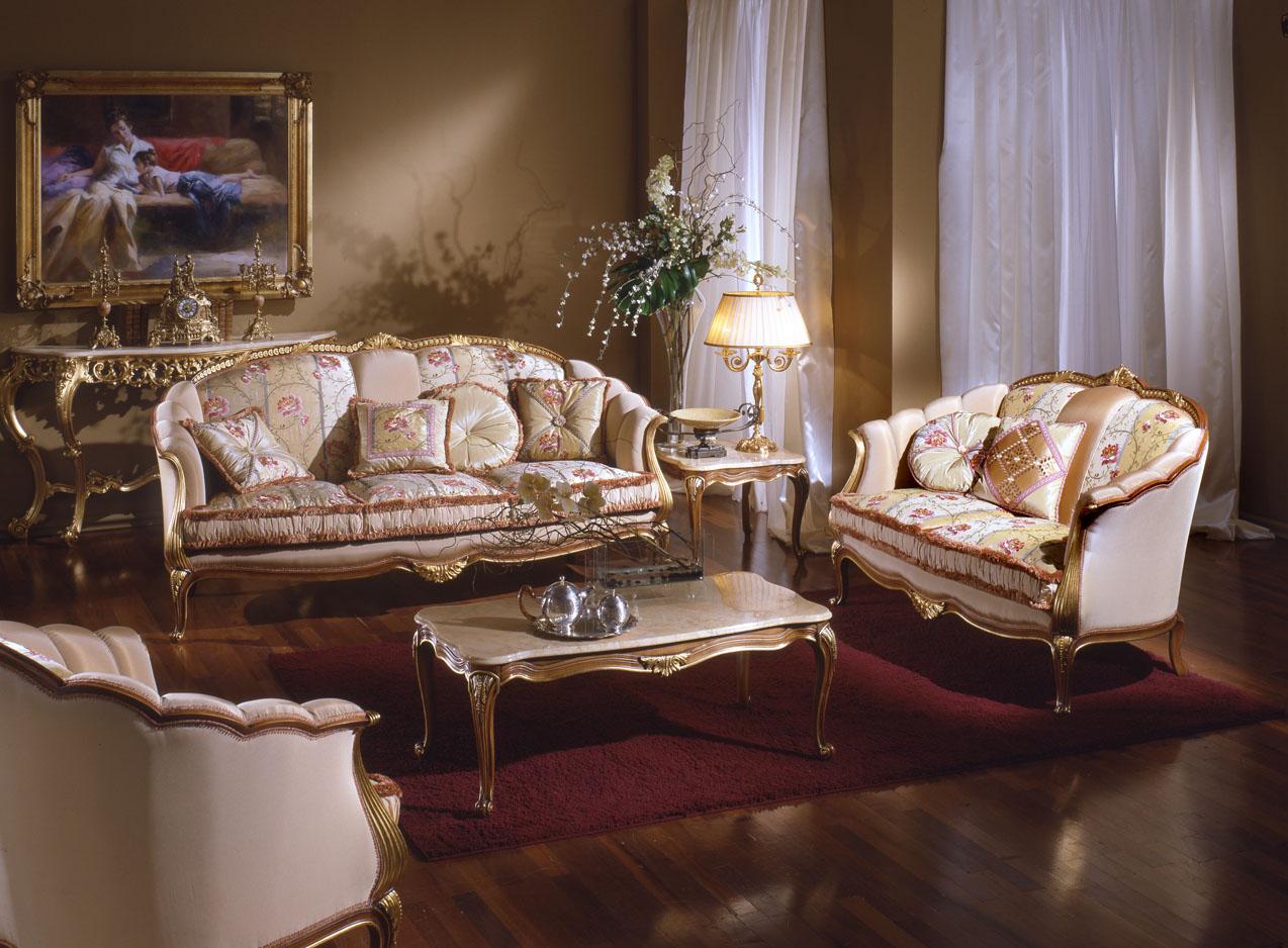 Французский золоченый диван
