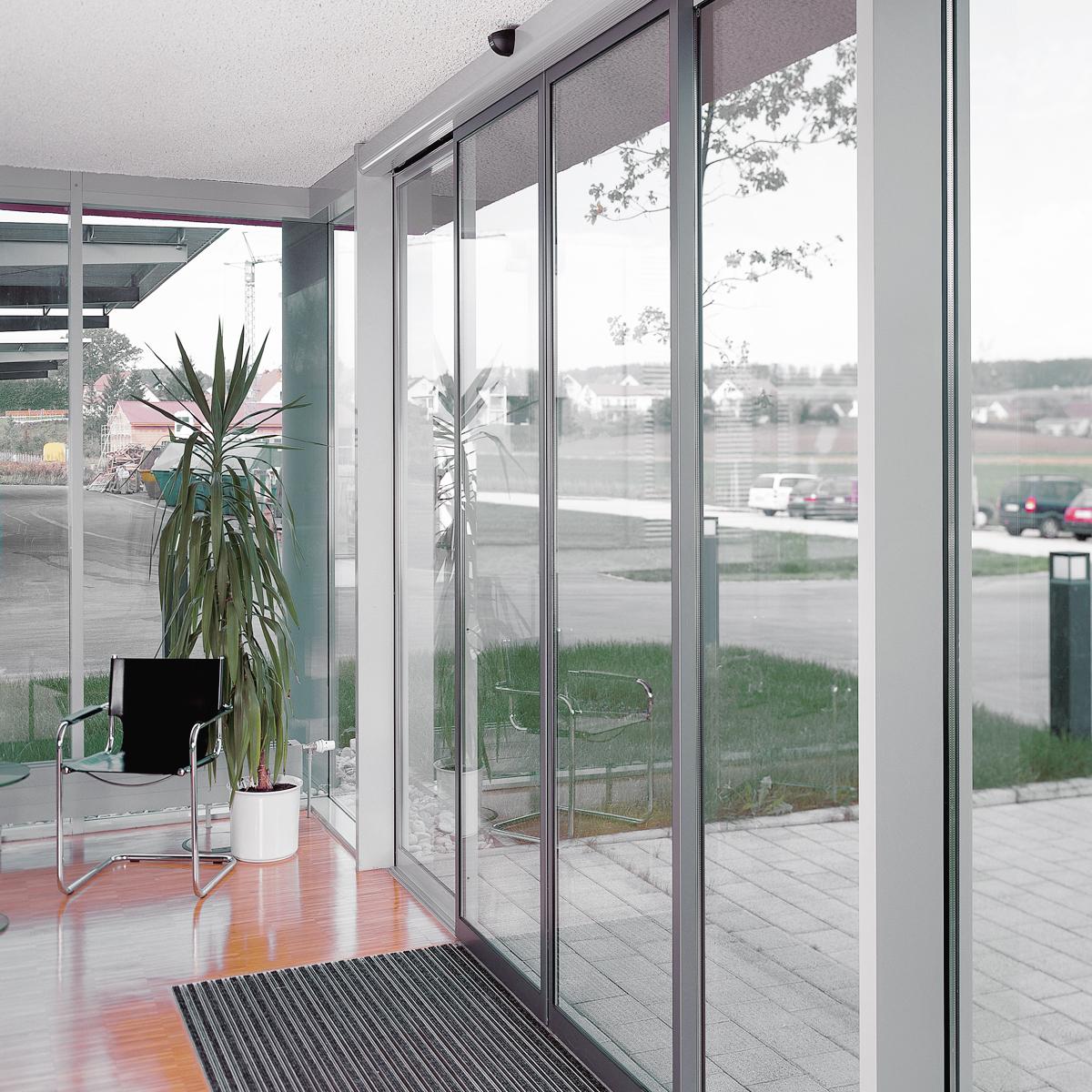 Автоматическая алюминиевая дверь
