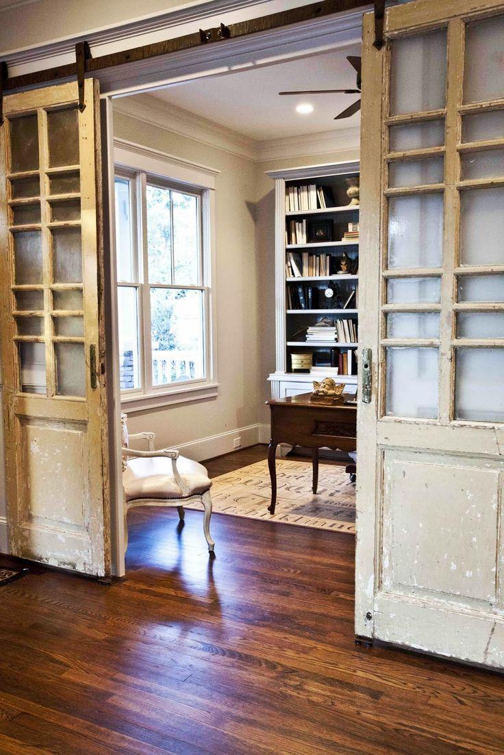 Амбарные двери в стиле прованс